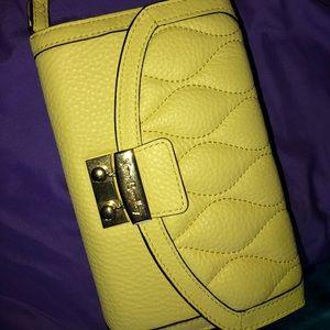 Yellow Vera Bradley Wallet